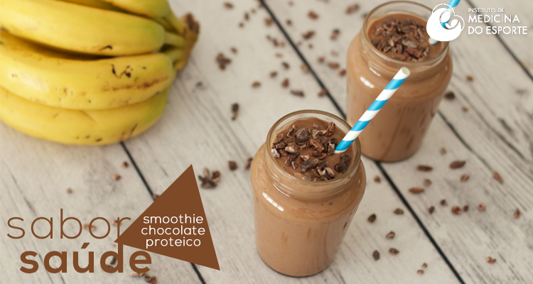 Smoothie de Chocolate Proteico